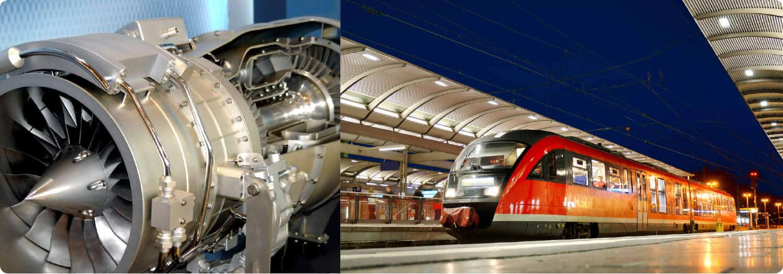 Vibration damper rail